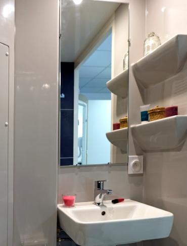 salle de bain préfabriquée baudet