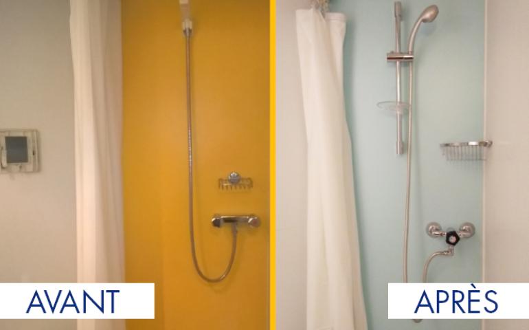 refresh rénovation salle de bain préfabriquée