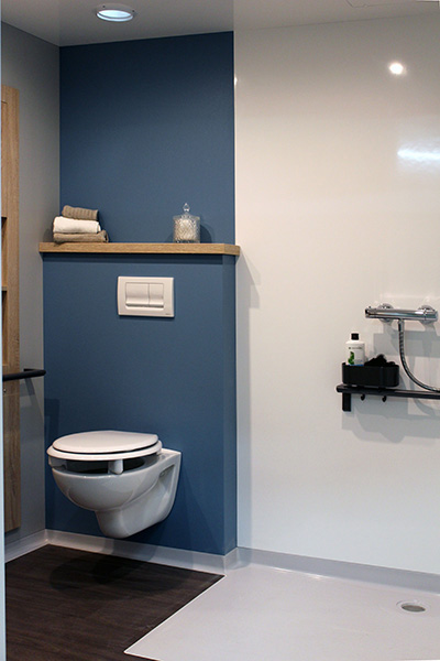 salle de bain préfabriquée PMR BALEA