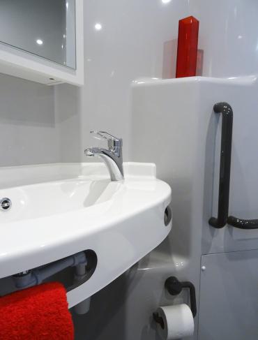vasque mellite salle de bain préfabriquée