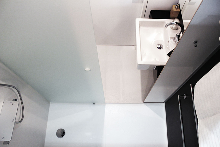 stream building hotel zoku salle de bain préfabriquées hotel BAUDET