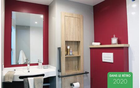 rétrospective 2020-salle de bain préfabriquée santé