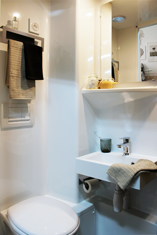 salle de bain préfabriquée logement étudiant JAVA baudet
