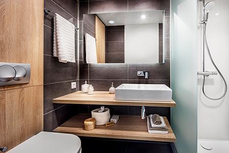 salle de bain hors site hotellerie haut de gamme